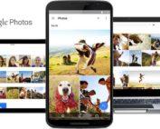 une-tablette-un-ordinateur-et-un-téléphone-au-milieu-affichant-l'application-google-photos